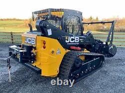 2021 Nouveau Robot Jcb 325t Forestmaster Skidsteer / Bobcat / Chargeur / Foresterie