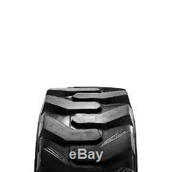 23 X 8,50 -12 Pneus Construction X 4 Pour Chargeur Bobcat Skid Steer / Case / Cat / Jcb