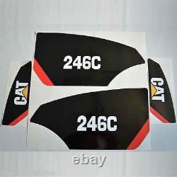 247c 246c 272c 289c 299c Stickers Kit Skid Steer Chargeur, Laminé, Décalque