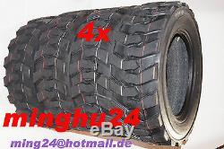 4 X Pneus 27x8.50-15 Chargeuse Sur Pneus Bobcat Décapeuse 27x850-15 Industrie
