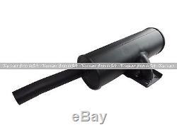A189113 Nouveau Case Muffler Convient Pour 1845c 1840 Skid Steer Loader