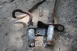 Acier Auxiliaire Lignes Hydraulique (partie 6711919/6711920) Bobcat 863 Chargeurs Compacts