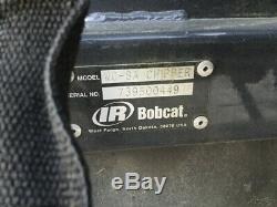 Attachement De Déchiqueteuse À Bois Et À Brosse Bobcat Wc8 2010 Pour Chargeuses Compactes