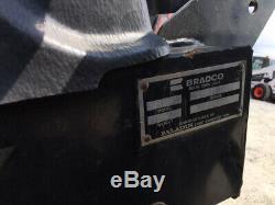 Attachement De Pelle Rétro Bradco 609 2008 Pour Chargeuses Compactes À Faible Utilisation