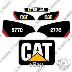 Autocollants 277 __gvirt_np_nn_nnps<__ C Caterpillar 277c Équipement Decal Kit