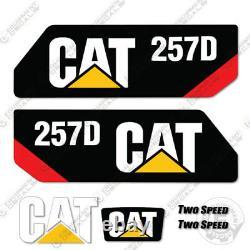 Autocollants Caterpillar 257d Decal Kit Equipment 257 D