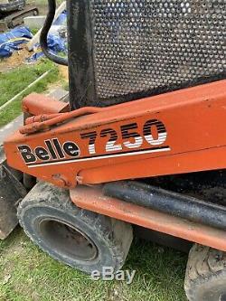 Belle 7250 Skidsteer Chargeur