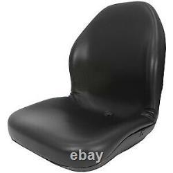 Black Seat 240 250 260 280 313 315 317 325 328 332 Fits John Deere Chargeuse Compacte