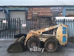 Bob Cat Skid Steer 631 Chargeur Digger Loading Pelle Bargain Plant Mini Digger