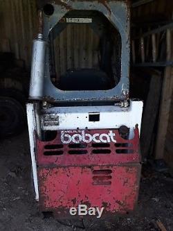 Bobcat 313 Mini Chargeuse Chargeur Étroit