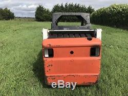 Bobcat 553 Skidsteer Loader Skid Steer Kubota Engine