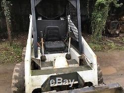Bobcat 731 Chargeuse Sur Pneus Mini Chargeuse No Tva