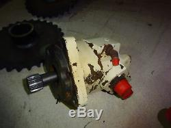 Bobcat 843 One Hydraulic Drive Wheel Chargeuse À Direction À Glissement 843b Skidsteer