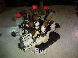 Bobcat 843 Valve De Contrôle Hydraulique Skid Steer Loader 843b Skidsteer
