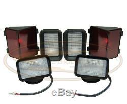 Bobcat Light Kit Assemblée Lampe 773 Série F-c Skid Steer Tête Arrière Avant Arrière