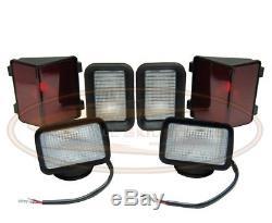 Bobcat Light Kit Ensemble De Lampe 853 Série F-c Queue De Tête Directe Avant Arrière