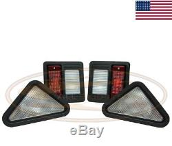 Bobcat Light Kit Lampe Assemblage T200 Skid Steer Loader Tail Front Queue Arrière Queue