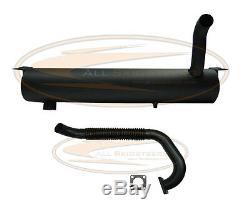 Bobcat Mini Chargeuse Isolée Pare-étincelles Silencieux Avec Tuyau Flexible / Joint 753