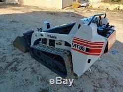 Bobcat Mt55 Chargeur À Direction À Glissement Pour Piste, Aux Hydraulics