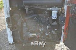 Bobcat S100 Y2010 Chargeur Compacteur À Rouleaux + Fourche Kubota Moteur 7750 € + Tva