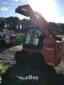 Bobcat S130 Mini Chargeur, Chargeuse