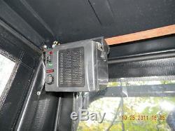 Bobcat S185 G Lexan Fenêtres De Côté 1/2 Porte Plus! Skid Loader Barre De Direction