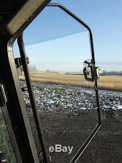 Bobcat S185 Lexan 1/2 Porte Plus Fenêtres Latérales! Vitre De Chargeur