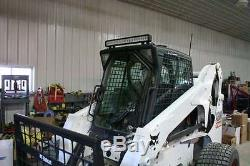 Bobcat S250 Lexan 1/2 Porte Plus Fenêtres Latérales! Skid Loader Barre De Direction