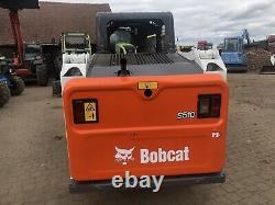 Bobcat Skid Dirige La Chargeuse Bobcat S510. Dérapage 2015 Low Hours