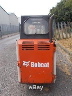 Bobcat Skid Steer Skidsteer Loader Livraison Du Moteur Kubota Ok
