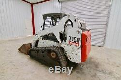 Bobcat T190 Chargeur Sur Chenilles, 61 Hp, Poids 7612, Charge Basculante 6851