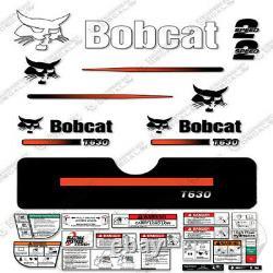 Bobcat T630 Compact Track Loader Kit De Décalque Skid Steer (rayures Droites)
