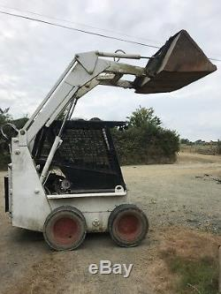 Case 1845 Skid Steer Bob Cat Chargeuse Chargeuse Tracteur