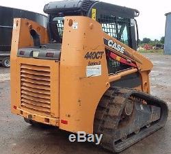 Case 440 Chargeur Compacteur Multi-terrains Série Ct 440 Bobcat New Holland 2010