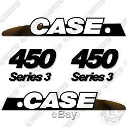 Case 450 Series 3 Decal Kit Mini Chargeuse Set De Remplacement Autocollant (450s3)