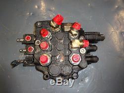 Case 465 Vanne De Régulation Hydraulique Mini Chargeur 445 450 440 410 420 430 435