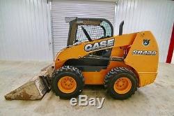 Case Sr220 Chargeuse Sur Pneu 82 Ch, 2 Vitesses, Prêt À Travailler