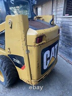 Cat 216b Skidsteer Chargeur Skid Steer Pas Bobcat