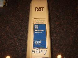 Cat Caterpillar 236 246 248 Chargeuses Compactes Manuel De Service De Réparation