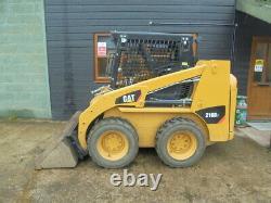 Cat Skidsteer/216b3 Chargeur / Digger £14750 + Tva