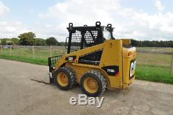 Caterpillar 216 B3 Cat Y2013 Chargeur Compact Steer + Godet + Fourches £ 13750 + Tva