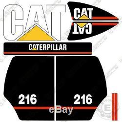 Caterpillar 216 Équipement Decal Kit Stickers Ancien Style