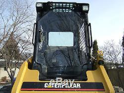 Caterpillar 226 B Cat 1/2 Extreme Duty Porte + Cabine Cabine. Chargeuse À Direction À Glissement