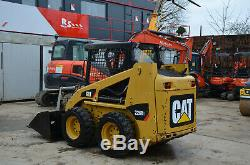 Caterpillar 226 B3 Année Chargeurs Compacts Loader 2011 Cat Diesel £ 10250 + Tva