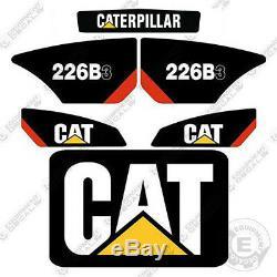 Caterpillar 226b-3 Autocollants Reproduction Skid Steer Équipement Autocollants