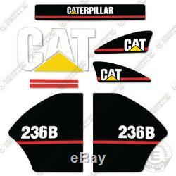 Caterpillar 236b Decal Kit Stickers Équipement Ancien Style 2003