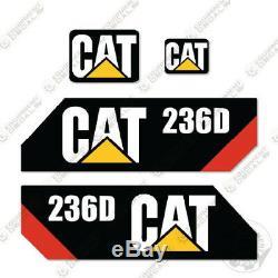 Caterpillar 236d Skid Steer Decal Kit Équipement Autocollants