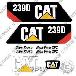 Caterpillar 239d Skid Steer Autocollants Decal Kit D'équipement (239 D)