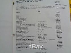 Caterpillar 246c 256c 262c 272c Skid Service De Chargeur Steer Manuel Jay Dws Mst Rouge
