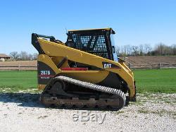 Caterpillar 247 B Cat 1/2 Extreme Duty Porte + Cabine Cabine. Chargeuse À Direction À Glissement